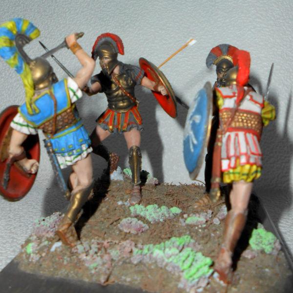 Бой спартанцев с авинянами