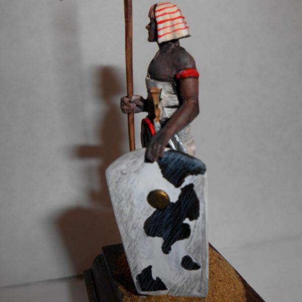 Египетский воин с копьм