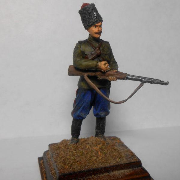 Казак, 17 полк генерала Бакланова
