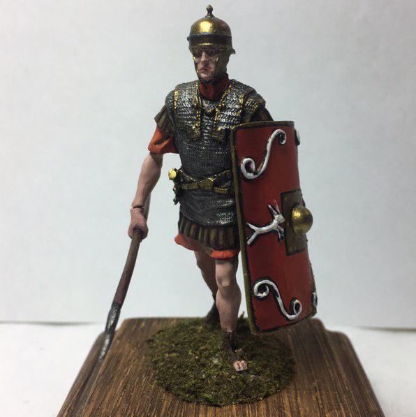 Легионер, правление Ю. Цезаря, 1-й век до н.э.