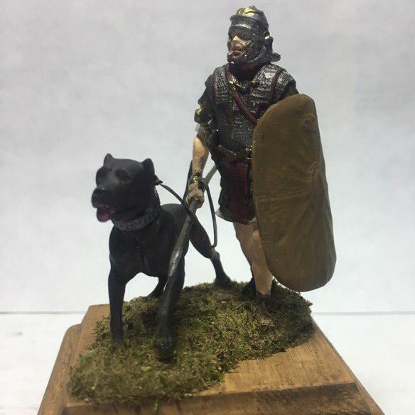 Легионер с собакой, 2-й век до н.э.