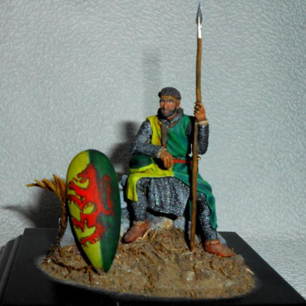 Нормандский рыцарь на привале