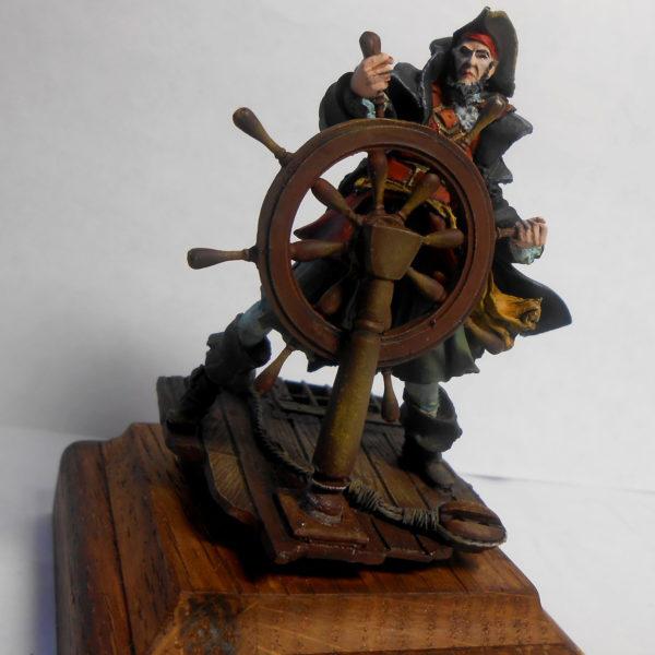 Пират у штурвала