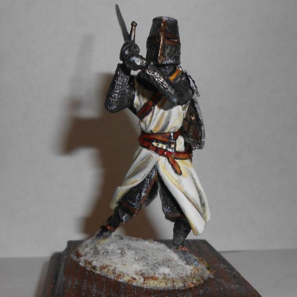 Тевтонский рыцарь с двуручным мечом, 14 век