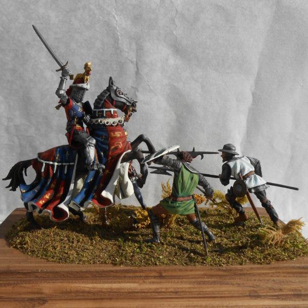 Чёрный принц Эдуард, битва при Пуатье