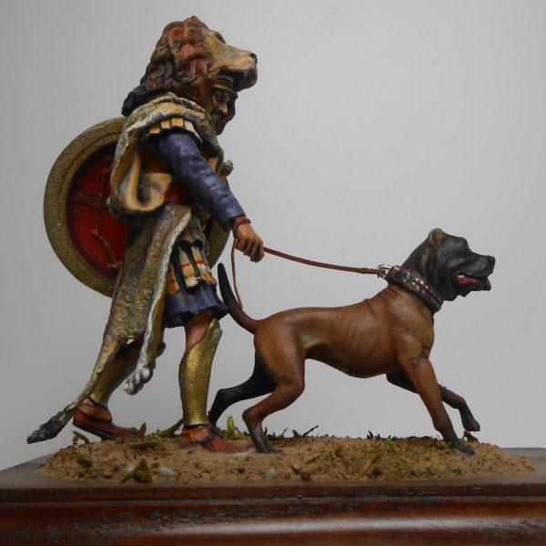 Карфагенский ветеран с собакой