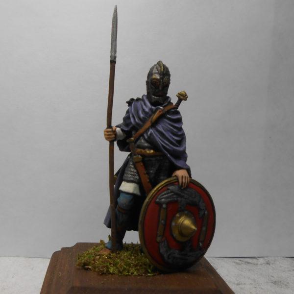 Викинг с копьём, 10-11 век