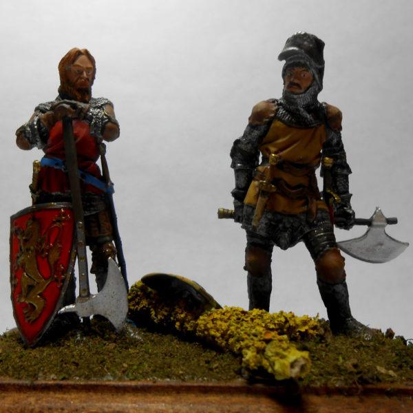Европейские средневековые рыцари