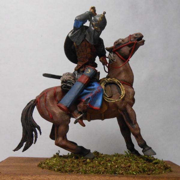 Конный монгольский воин, 13 век