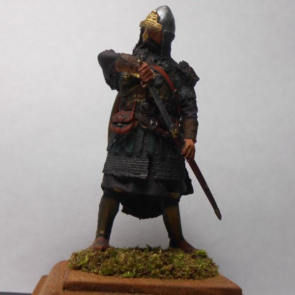 Новгородский знатный воин, 14 век