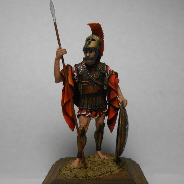 Спартанец с копьём