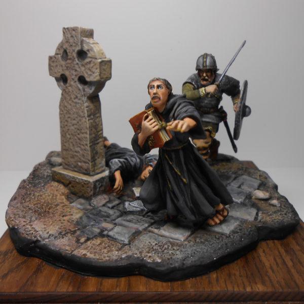 Нападение викингов на Линдисфарнский монастырь