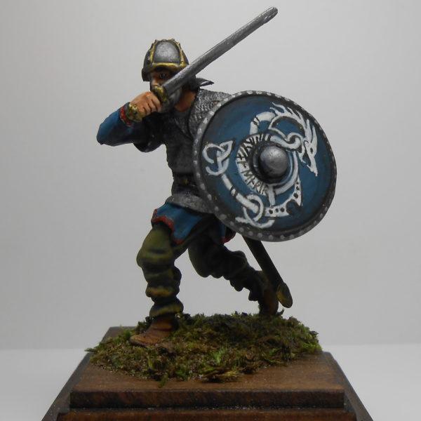 Атакующий викинг, 8 век
