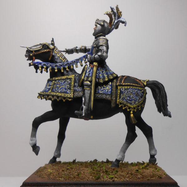 Конный европейский рыцарь, 15-16 век
