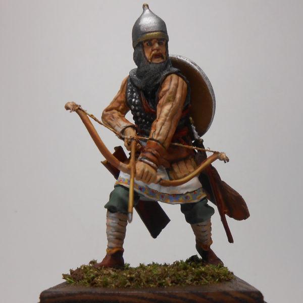 Русский лучник, 14 век