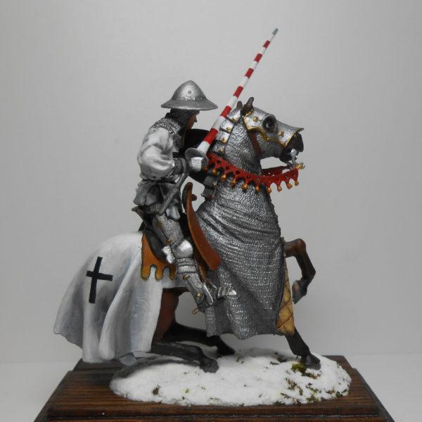 Конный Тевтонский рыцарь