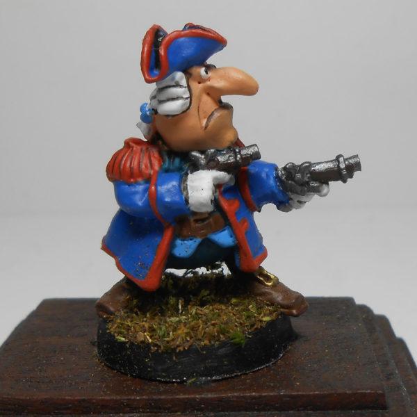 Капитан Смоллетт с пистолетами из м/ф «Остров сокровищ»