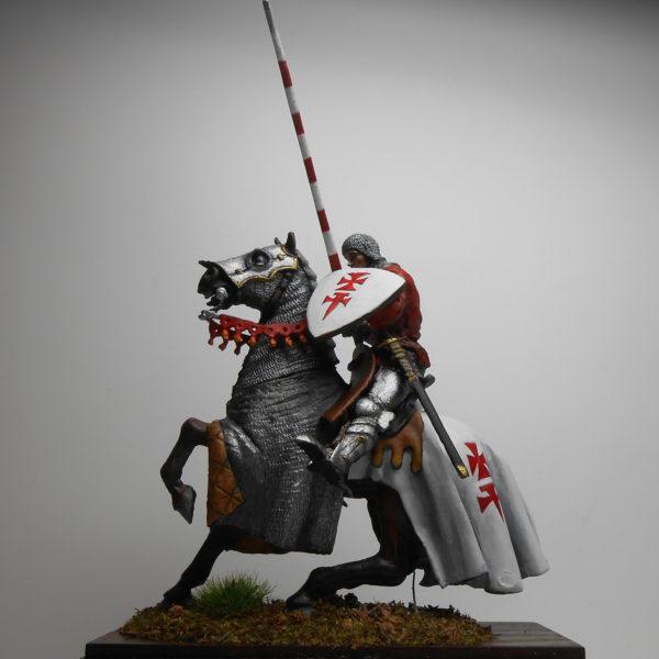 Конный рыцарь ордена меченосцев