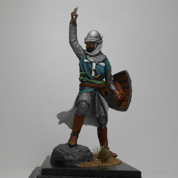 Атакующий госпитальер с мечом