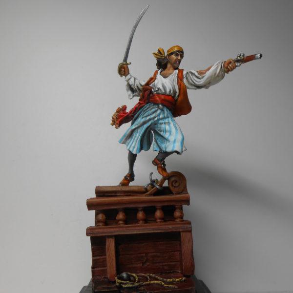 Пират из абордажной команды