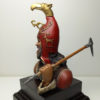 Знатный скифский воин с клевцом