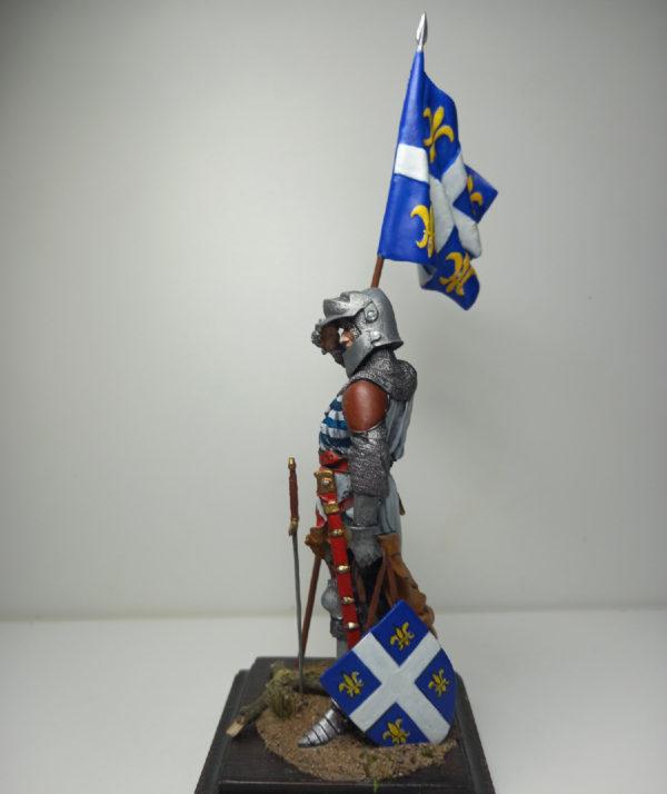 Французский знаменосец, 15 век