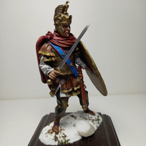 Римский кавалерийский спешенный офицер