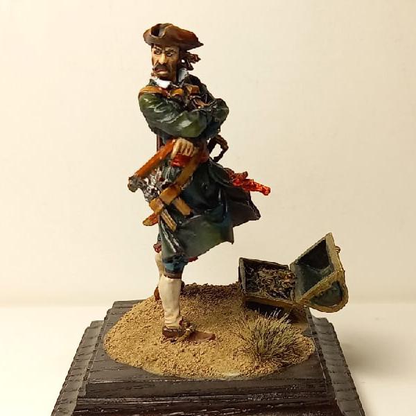 Пират с пистолетами