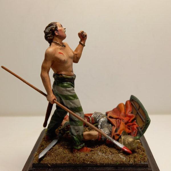 Германец над телом легионера