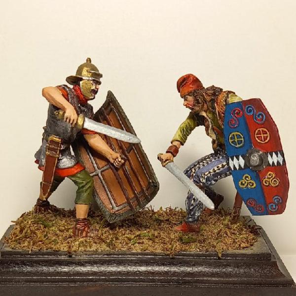 Схватка легионера с германцем
